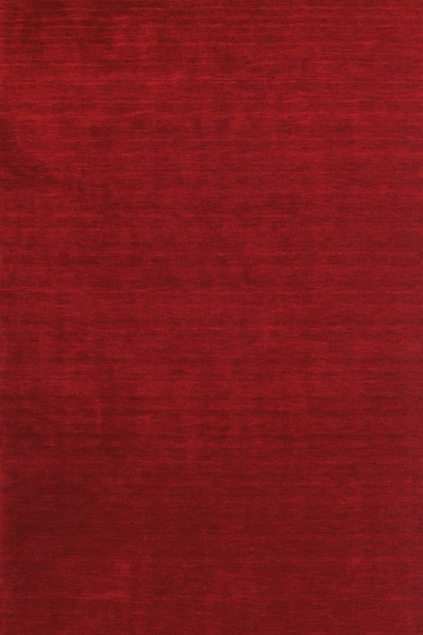 Red Casual Area Rug