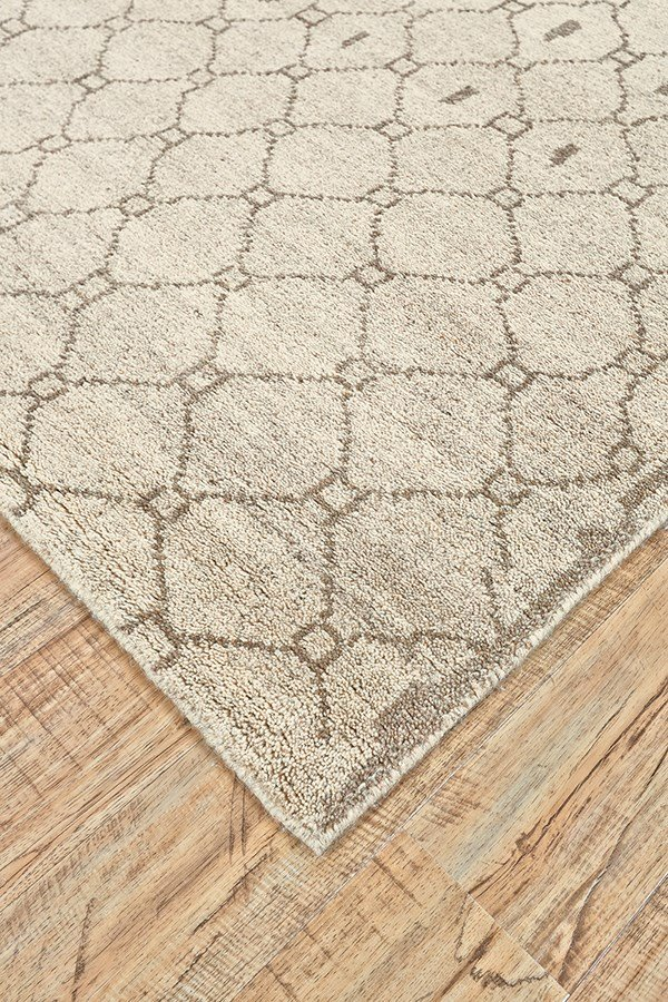 Natural, Ecru Southwestern / Lodge Area Rug