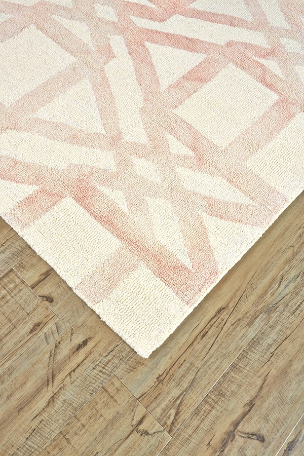 Blush Transitional Area Rug