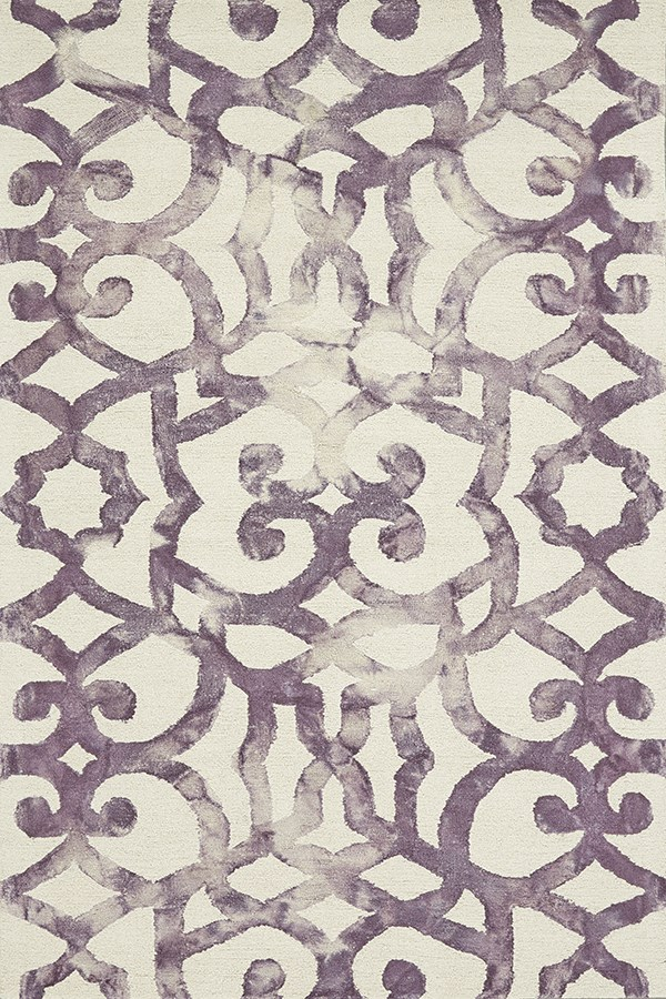 Violet Transitional Area Rug