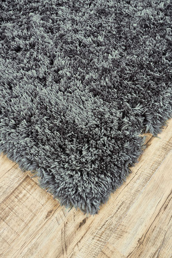 Graphite Solid Area Rug