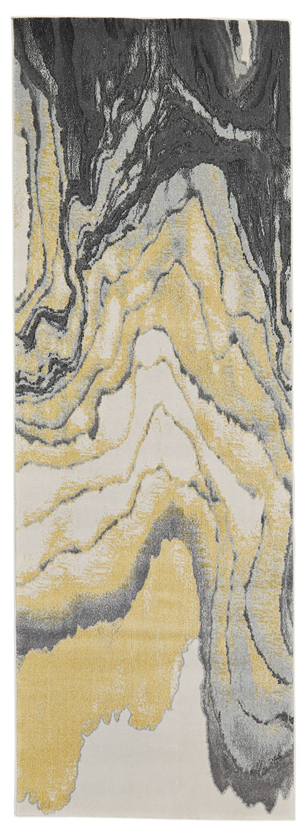 Slate Abstract Area Rug