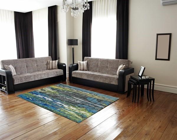 Aura Contemporary / Modern Area Rug