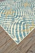 Product Image of Teal Contemporary / Modern Area Rug