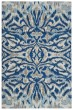 Product Image of Blue, Haze Ikat Area Rug