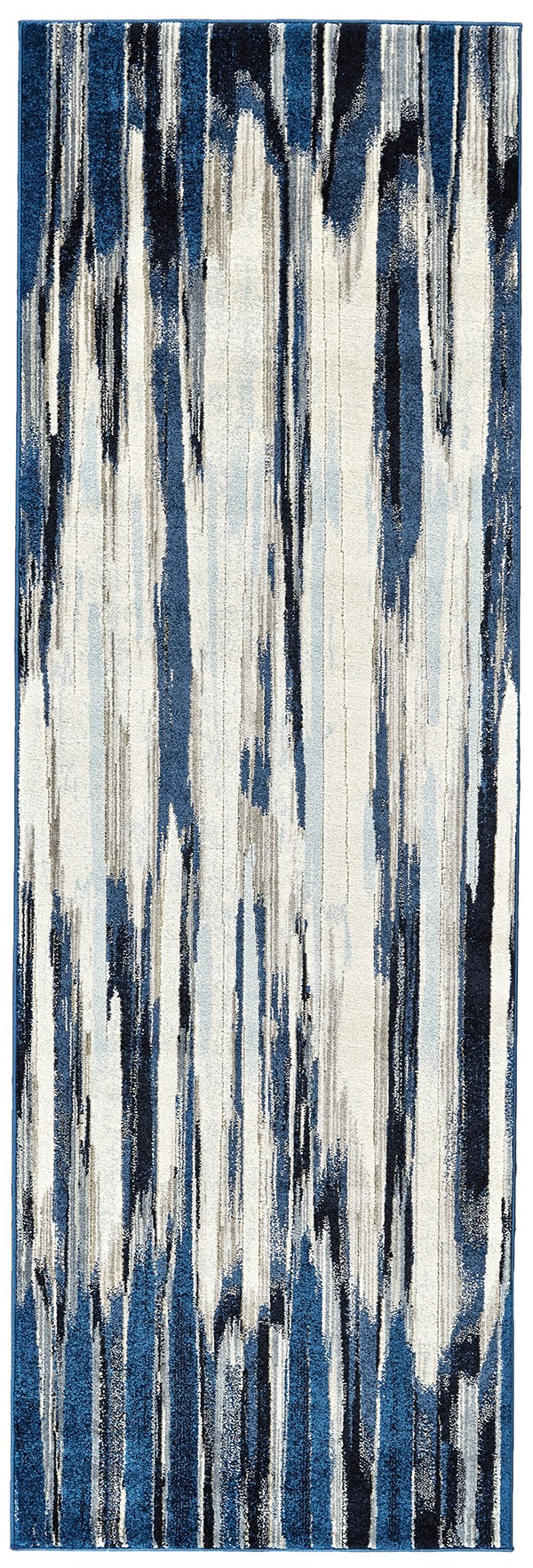 Indigo Contemporary / Modern Area Rug