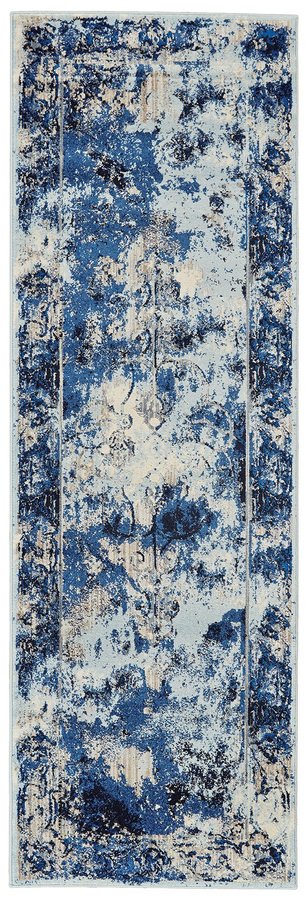Thundercloud Vintage / Overdyed Area Rug
