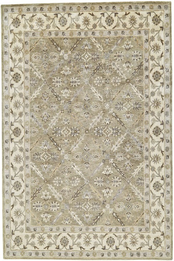 Sage Traditional / Oriental Area Rug