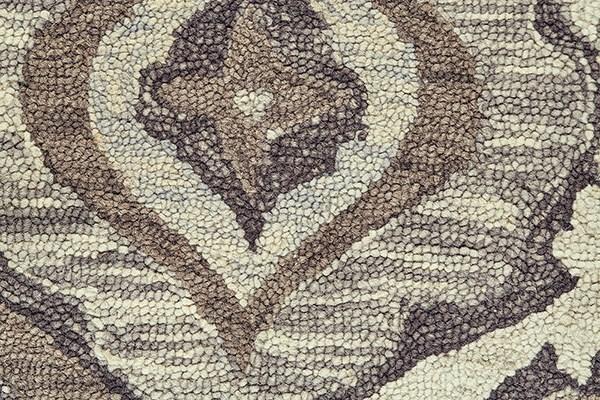 Ivory, Grey Southwestern / Lodge Area Rug
