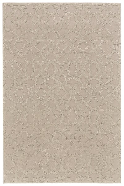 Ivory Textured Solid Area Rug