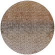 Product Image of Dark Gold Contemporary / Modern Area Rug