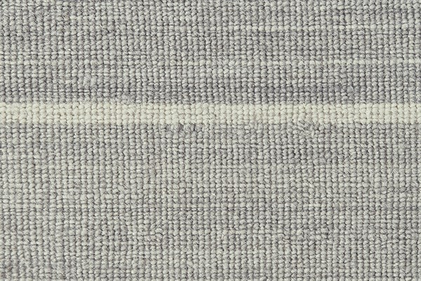 Light Grey Striped Area Rug