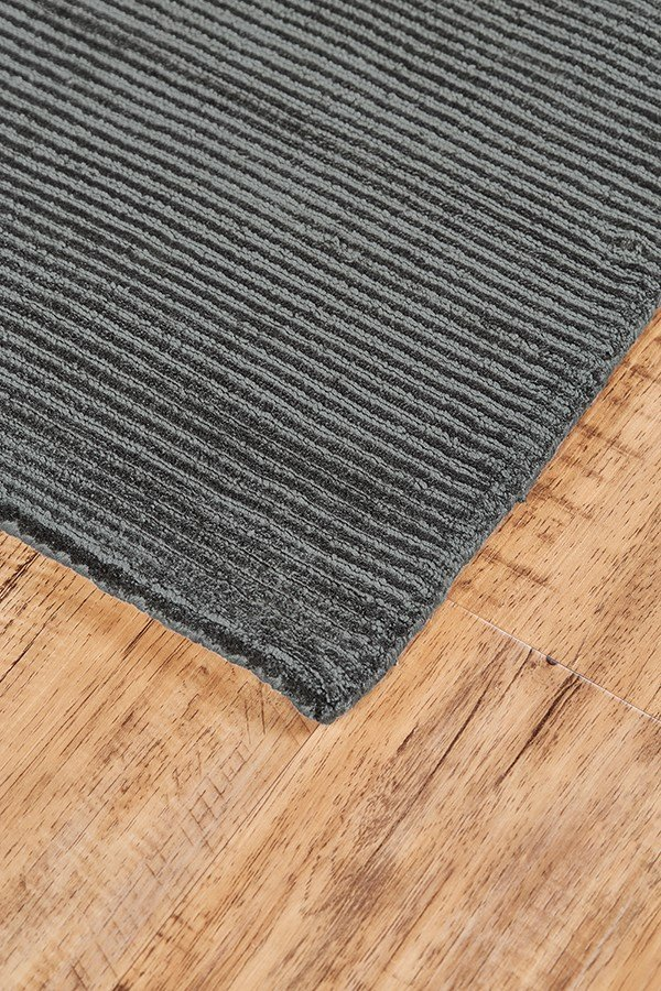 Charcoal Solid Area Rug