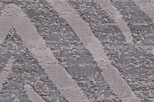 Gray Chevron Area Rug