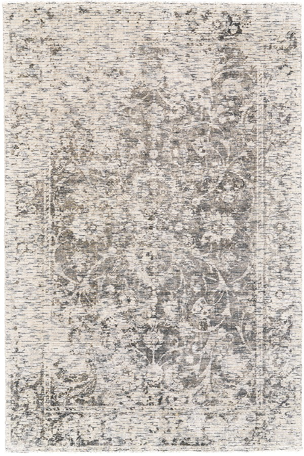 Gray Vintage / Overdyed Area Rug