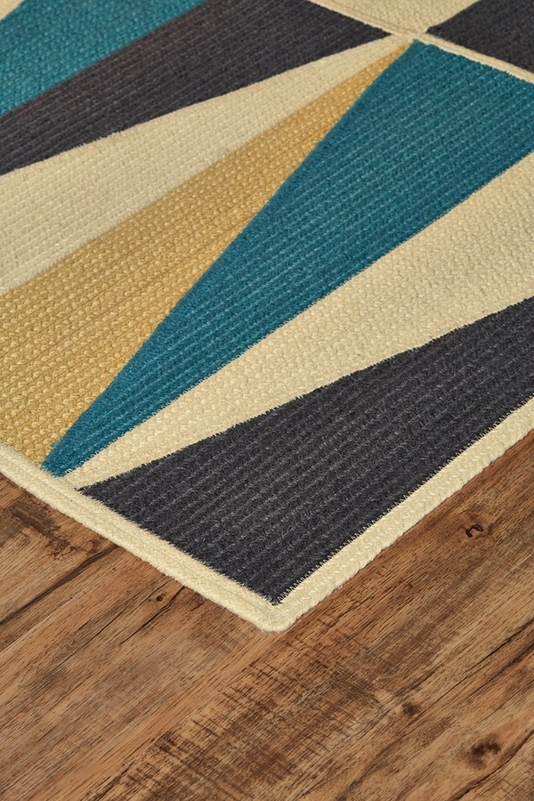 Indigo Outdoor / Indoor Area Rug