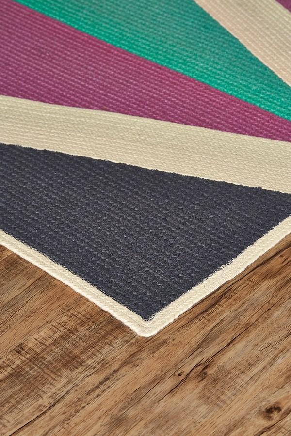 Purple Outdoor / Indoor Area Rug