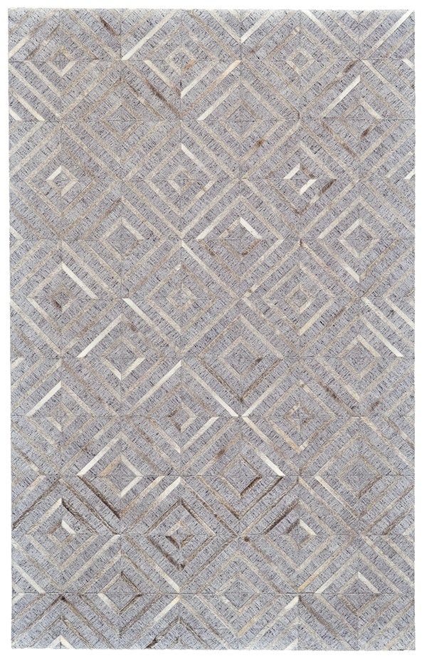 Bisque, Storm Geometric Area Rug