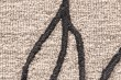 Product Image of Taupe, Black Contemporary / Modern Area Rug