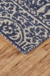 Product Image of Cobalt, White Moroccan Area Rug
