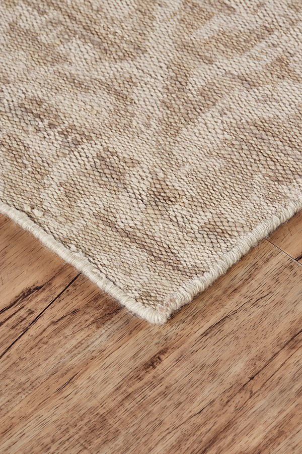Natural, Ivory Moroccan Area Rug