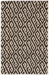 Product Image of Contemporary / Modern Black, White Area Rug