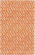 Product Image of Contemporary / Modern Orange, Natural Area Rug