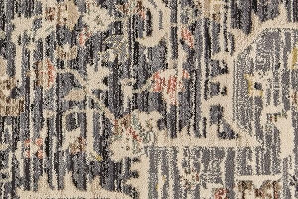 Grey, Charcoal Vintage / Overdyed Area Rug