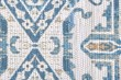 Product Image of Blue, Tan Ikat Area Rug