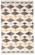 Product Image of Ivory, Charcoal Moroccan Area Rug