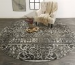 Product Image of Charcoal, Ivory Vintage / Overdyed Area Rug