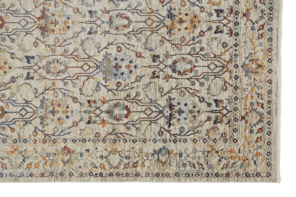 Ivory, Taupe Vintage / Overdyed Area Rug