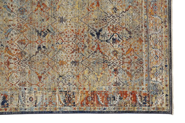 Brown, Grey, Spice Vintage / Overdyed Area Rug