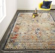 Product Image of Brown, Grey, Spice Vintage / Overdyed Area Rug