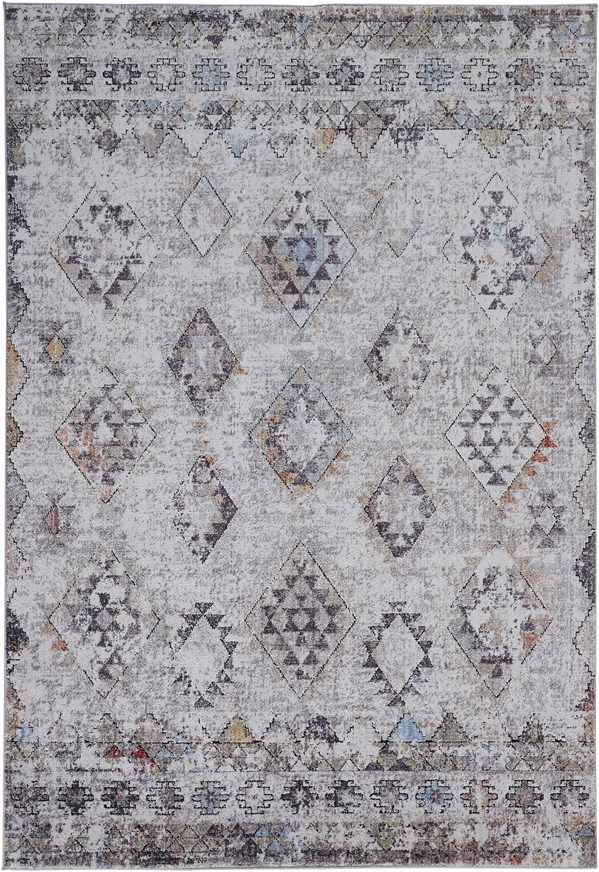 Grey, Sand Transitional Area Rug