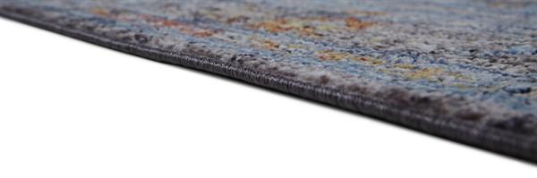 Blue, Charcoal Bohemian Area Rug