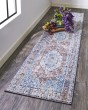 Product Image of Blue, Charcoal Bohemian Area Rug