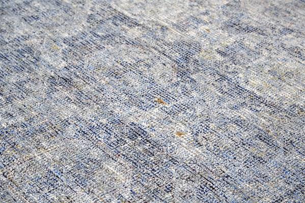 Blue Bohemian Area Rug