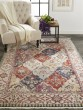 Product Image of Red, Ivory Vintage / Overdyed Area Rug