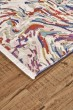 Product Image of Cream, Purple, Blue Abstract Area Rug