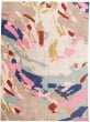 Product Image of Pink, Taupe, Blue Abstract Area Rug