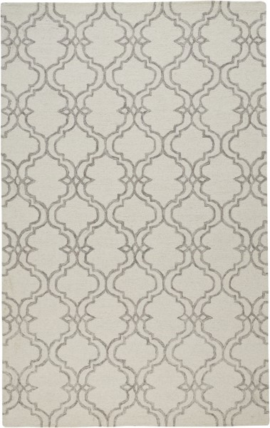 Light Grey Contemporary / Modern Area Rug