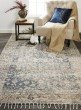 Product Image of Navy, Tan Vintage / Overdyed Area Rug