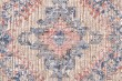 Product Image of Rust, Cream, Blue Vintage / Overdyed Area Rug