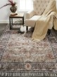Product Image of Grey, Rust Vintage / Overdyed Area Rug