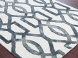 Product Image of White, Grey Moroccan Area Rug
