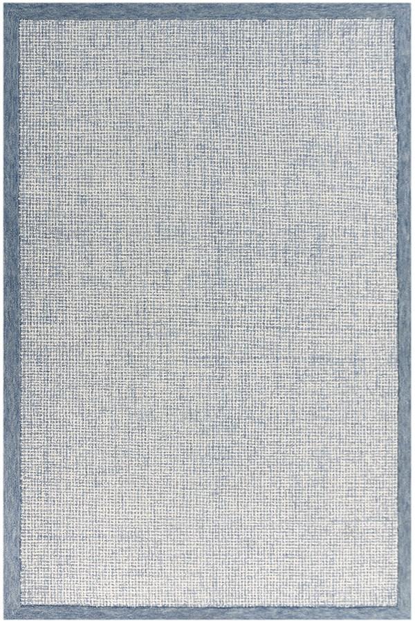 Blue, Aqua (IDI-1) Casual Area Rug