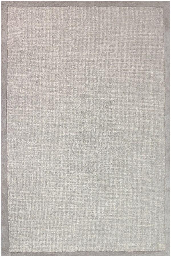 Gray, Dove Gray (IDI-4) Casual Area Rug