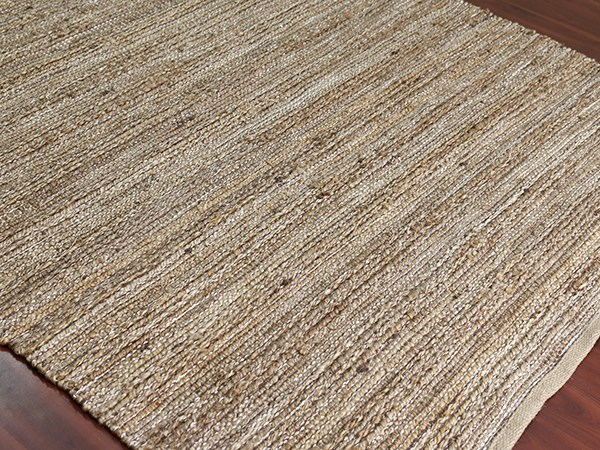 Brown, Tan (NAT-2) Rustic / Farmhouse Area Rug
