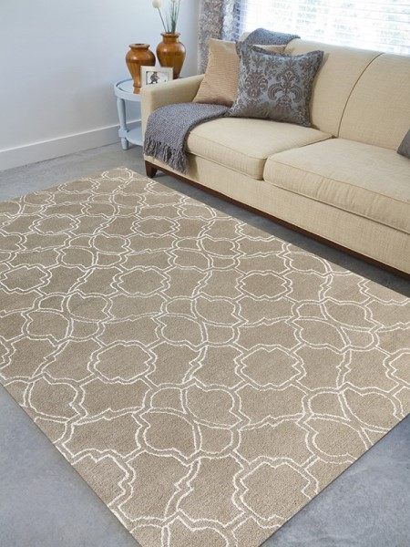 Sand, Ivory (CIT-3) Moroccan Area Rug